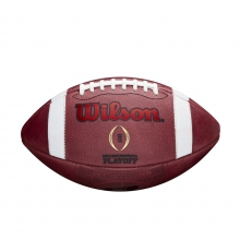 College Football Playoff Football - Wisconsin State Watermark by Wilson