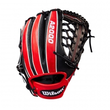 Red/Black A2000 1789 Glove - May 2017 by Wilson