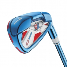 Staff Limited Edition PVD D300 Irons by Wilson in Ames Ia