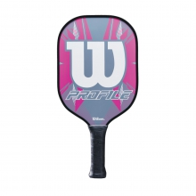 Profile Pickleball Paddle - Grey / Pink by Wilson