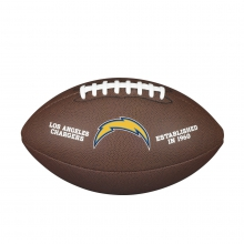 NFL Team Logo Composite Football - Official, Los Angeles Chargers by Wilson