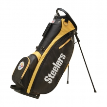 Wilson NFL Carry Golf Bag - Pittsburgh Steelers by Wilson