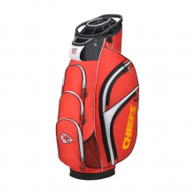 Wilson NFL Cart Golf Bag - Kansas City Chiefs