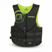 Men's Traditional Life Jacket - Blk/Ylw