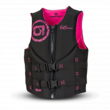 Women's Traditional Life Jacket - Blk/Pink by O'Brien