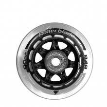 Wheels Pack 90/84A+Sg9+8Mmspacers (8Pcs) by Rollerblade