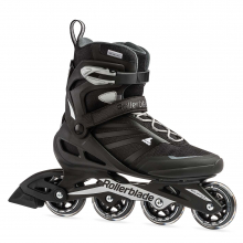 Zetrablade Men's Adult Fitness Inline Skate, Black and Silver by Rollerblade