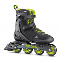 Zetrablade Elite Men's Adult Fitness Inline Skate, Black and Lime by Rollerblade in Squamish BC