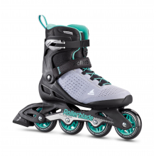 Zetrablade Elite Women's Adult Fitness Inline Skate, Black and Powder Blue by Rollerblade in Squamish BC