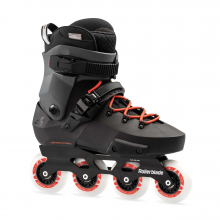 Twister Edge Men's Adult Fitness Inline Skate, Black and Red, High Performance Inline Skates by Rollerblade