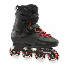 Twister Edge X Unisex Adult Fitness Inline Skate, Black and Orange, Premium Inline Skates by Rollerblade in Chelan WA