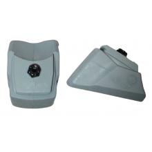 Standard Non Marking  Brake Pad, Inline Skates, Grey, 2 Pack