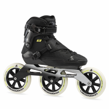 E2 Pro 125 Unisex Adult Fitness Inline Skate, Black by Rollerblade in Squamish BC