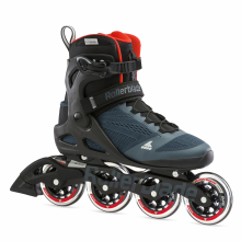 Macroblade 90 Men's Adult Fitness Inline Skate, Orion Blue/Spicy Orange by Rollerblade in Squamish BC