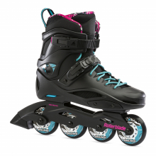 RB Cruiser Women's Fitness Inline Skate, Black/Aqua by Rollerblade in Squamish BC