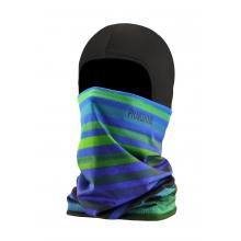 Thermal Ballerclava Stripes Green Blue
