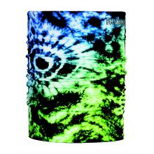Thermal Tube Tie Dye Green Blue by Phunkshun Wear