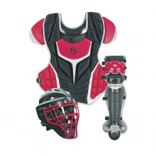 Louisville Slugger Fastpitch Adult 3-Piece Catcher's Set by Louisville Slugger
