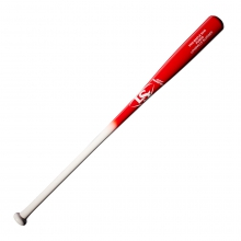 Louisville Slugger Maple S345 Fungo Red/White Baseball Bat by Louisville Slugger