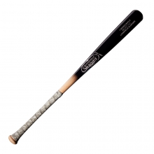 Louisville Slugger Select Cut Maple Mixed Black/Natural Fade Baseball Bat with Grip by Louisville Slugger