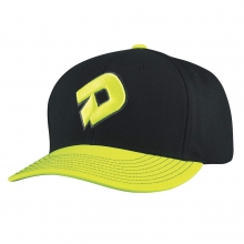 D Snapback Hat - Black by DeMarini