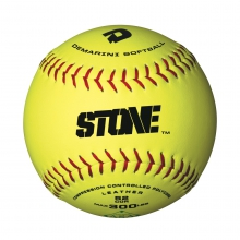 "12"" ASA Stone Slowpitch Leather Softball by DeMarini"