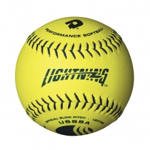 "12"" USSSA Lightning Classic Y Slowpitch Leather Softball by DeMarini"