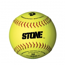 "11"" ASA Stone Slowpitch Synthetic Softball"