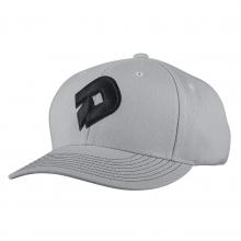 D Snapback Hat - Gray by DeMarini