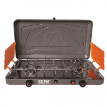 Deluxe 2 Burner Propane Stove by Kuma Outdoor Gear in Alamosa CO