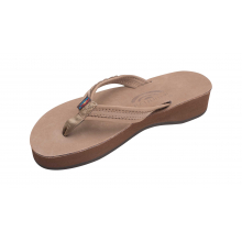 """Madison Four Layer Wedge with a 3/4"""" Medium Braided Strap by Rainbow"""