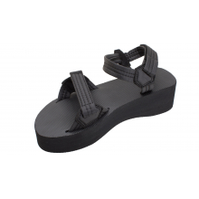 Six Layer Rubber Trekker Rip Stop Nylon Straps with Adjustable Velcro Closures by Rainbow