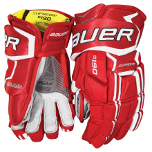 SUPREME S190 Glove by Bauer in Red Deer Ab