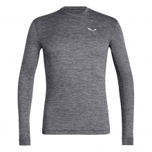 Puez Melange Dry Men's Long Sleeve Tee by Salewa