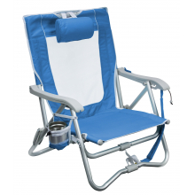 Bi-Fold Slim Beach Chair