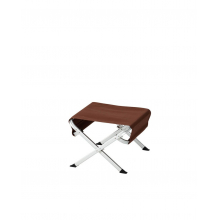 Fire side Ottoman, Brown by Snow Peak