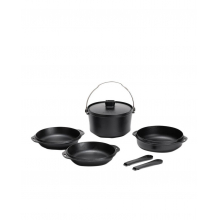 Cast Iron Duo Cooker by Snow Peak