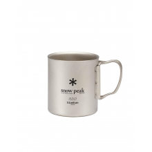 Titanium Double Wall 450 Mug by Snow Peak