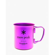 Titanium Single Cup  450 Purple by Snow Peak in Fort Collins CO