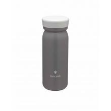 Stainless Vacuum Bottle MILK 500 Ash by Snow Peak