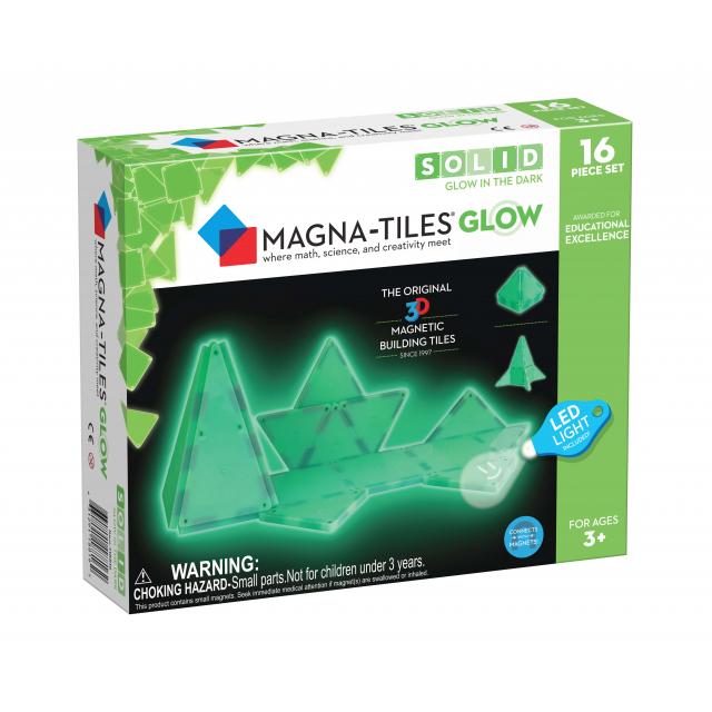 MagnaTiles - Glow 16-Piece Set