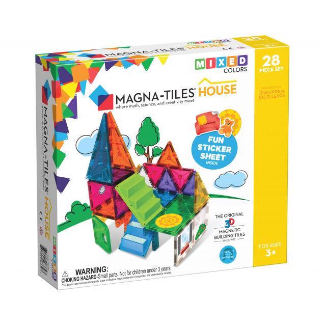 MagnaTiles - House 28-Piece Set