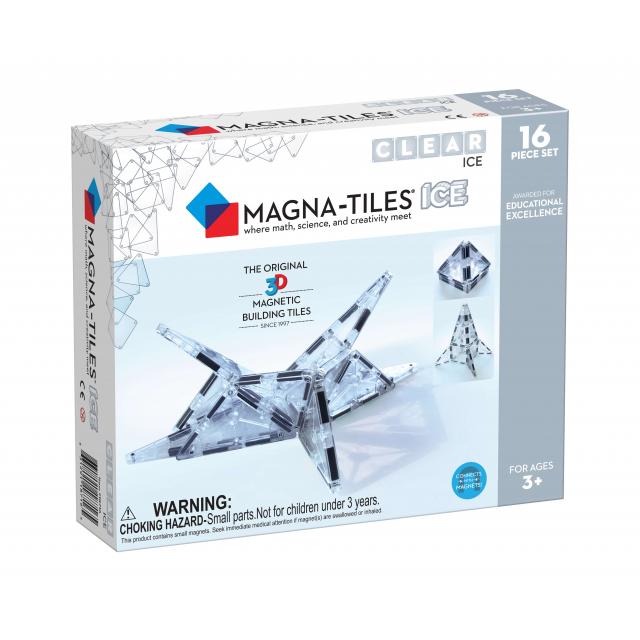 MagnaTiles - ICE 16-Piece Set