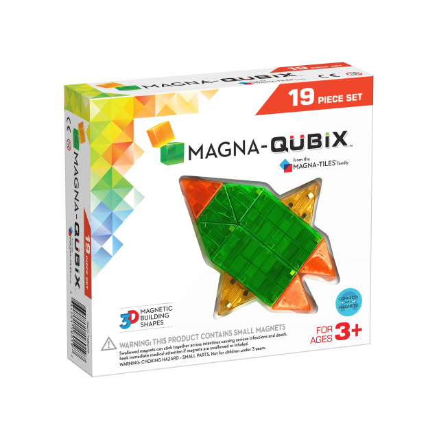 MagnaTiles - Magna-Qubix 19-Piece Set
