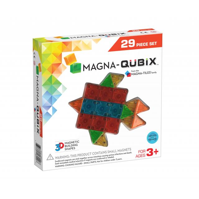 MagnaTiles - Magna-Qubix 29-Piece Set