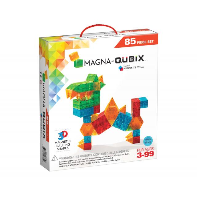 MagnaTiles - Magna-Qubix 85-Piece Set