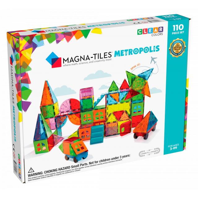 MagnaTiles - Metropolis 110-Piece Set