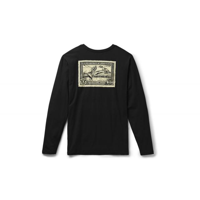 YETI - Duck Stamp Long Sleeve T-Shirt - Black - S