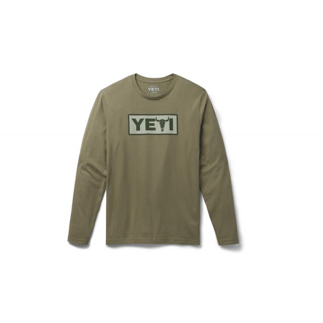YETI - Steer Long Sleeve T-Shirt - Military Green - L