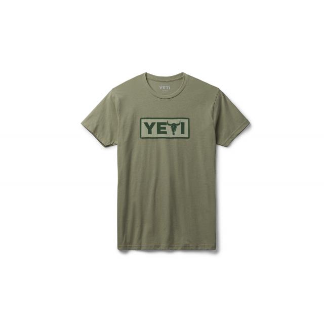 YETI - Steer Short Sleeve T-Shirt - Highlands Olive - S